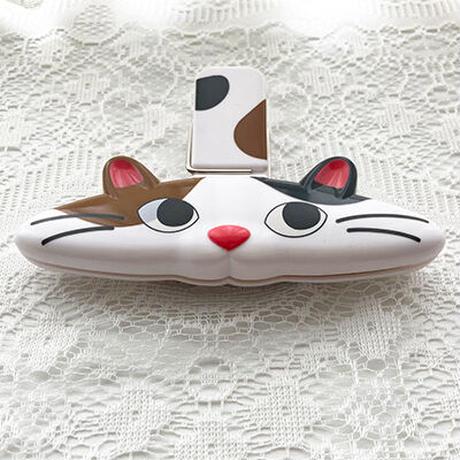 三毛猫 バッグクリップ