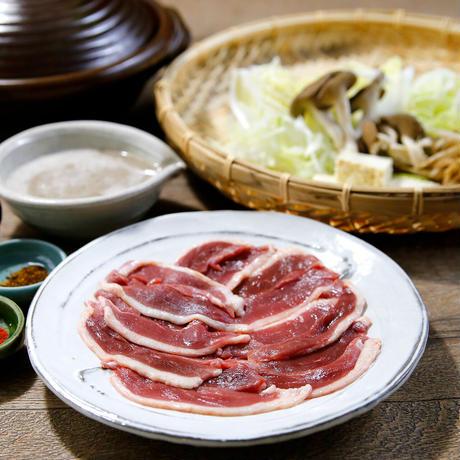 【キャンペーン】自然薯本鴨鍋(2人前)