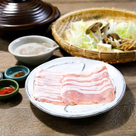 自然薯三元もち豚鍋(2人前)