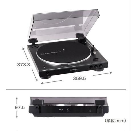 audio-technica ワイヤレス・ターンテーブル AT-LP60XBT GBK