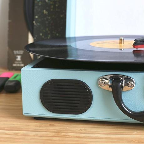 ION レコードプレーヤー VINYL TRANSPORT Blue