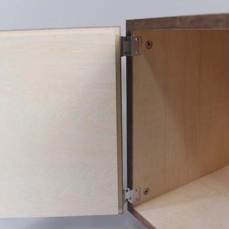 瀬戸内工芸製 フレーム & レコードラック 1ユニット / ウォルナット