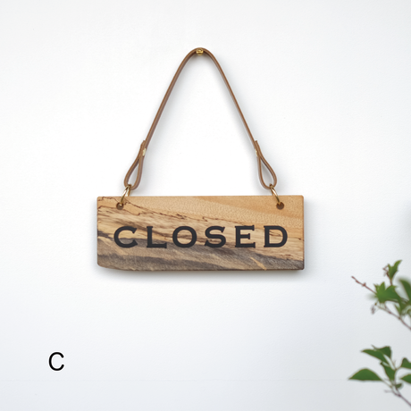 SIGN PLATE  [OPEN/CLOSED]