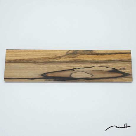 wood plate / 黒柿01