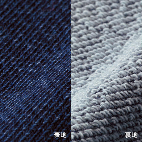 YB021 インディゴ染スエット《YB.》 YB. indigo sweatshirts