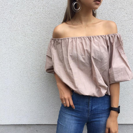 off-shoulder tops