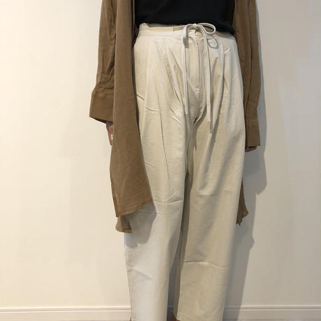 west ribbon tuck pants