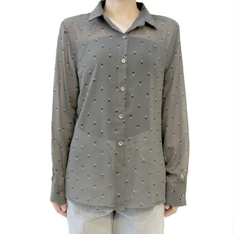 triangle pattern shirt