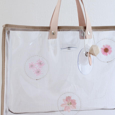 2019ss   plants pvc bag  -草花の標本bag-