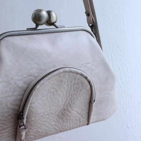 仮予約 new color!  2019aw wallet shoulder bag (leather:BONE)