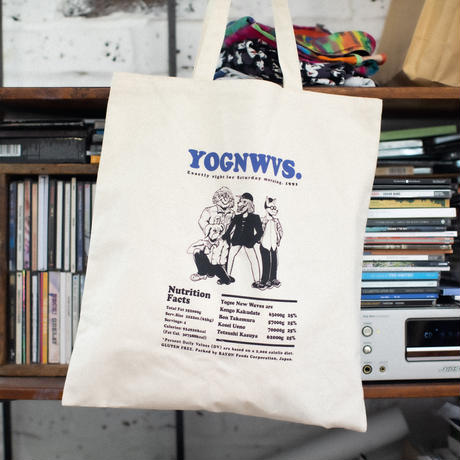 Yogee DOGs  TOTE(WHITE)