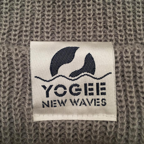 TAG KNIT CAP(GRAY)
