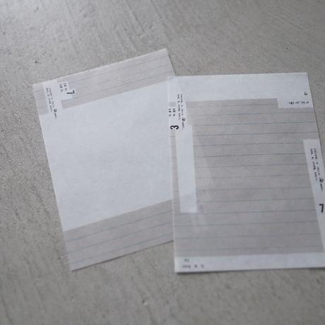 M-030    メモ帳    06    メッセージ