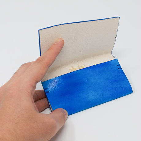 card case / blue