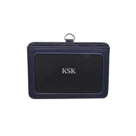 KSK IDケース(ネイビー)
