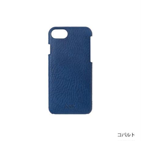 KSKハードケースロゴ iPhone8/7/6s/6(コバルト/レッド/キャメル/ブラック)
