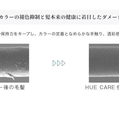 HUEcareシャンプ−300ml/トリートメント200gセット