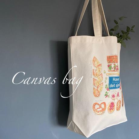 【北欧セット】キャンバスバッグ&一筆箋