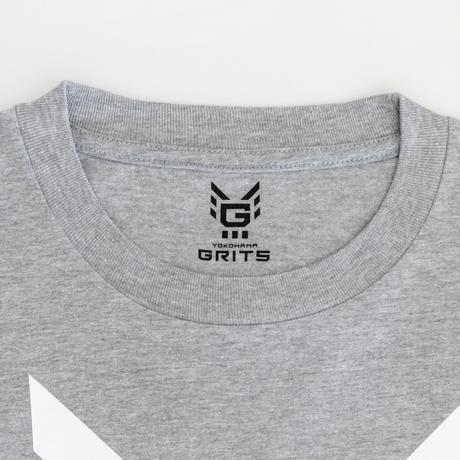ビッグロゴTシャツ(グレー)6.1oz