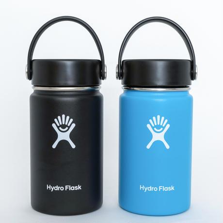 YOKOHAMA GRITS x Hydro Flask ステンレスボトル 12oz Wide Mouth