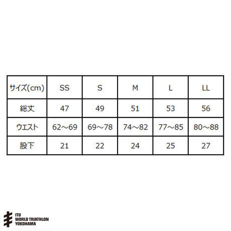 WTS横浜 オリジナルハーフパンツ BK