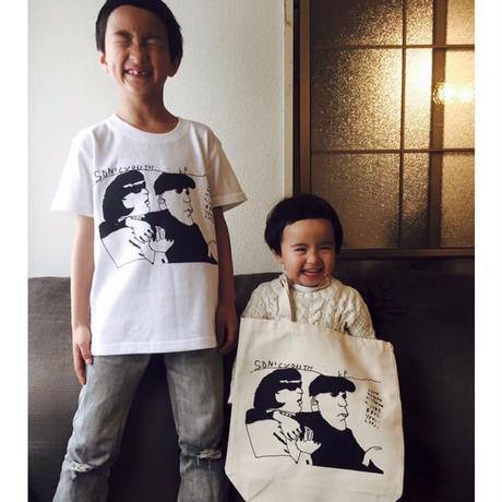 テンちゃんTシャツ ソニックテンちゃん ホワイト
