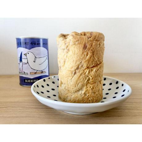 【オリジナル】出口かずみイラスト よもぎBOOKS4周年記念パンの缶詰(ブルーベリー味)