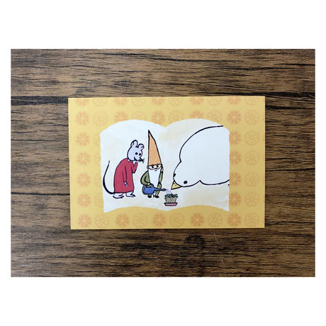出口かずみポストカード3枚セット(ストロベリー・ブルーベリー・オレンジ)