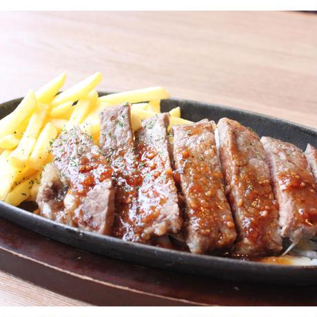 【炉端かば米子角盤町店】サーロインカットステーキ(おろしポン酢)