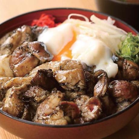 【山陰郷土料理かば米子駅前店】鶏炭丼(大)