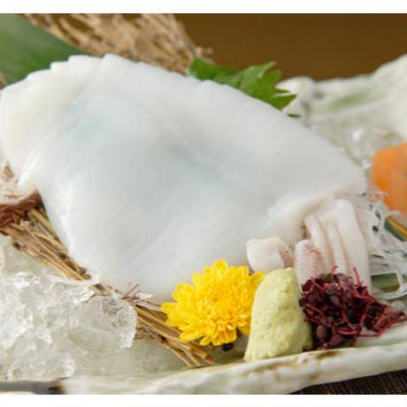 【山陰郷土料理かば米子駅前店】白いか半身刺