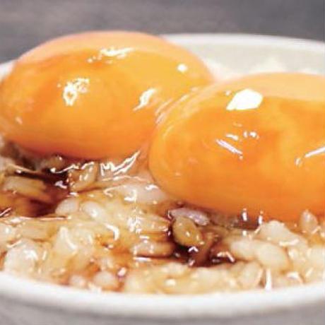 【炉端かば米子角盤町店】卵かけごはん(卵2個)