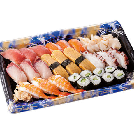 【炉端かば米子角盤町店】握り寿司24貫