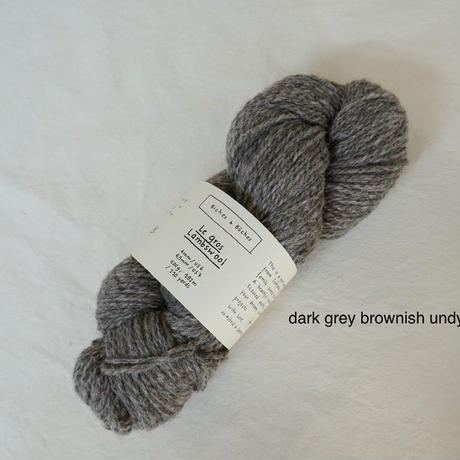 Biches et Bûches / Le Gros Lambswool 3  (無染色)