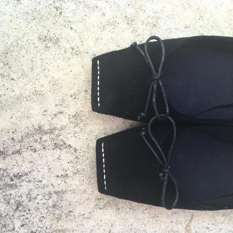 【受注商品】square  stitch ballet shoes