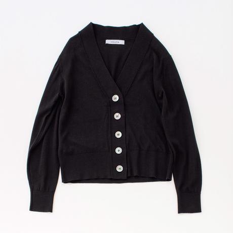 V cardigan (black)