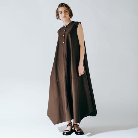 balloon dress (brown)
