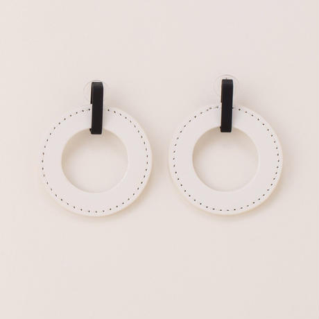 circle pierce (white)