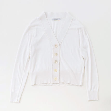 V cardigan (white)