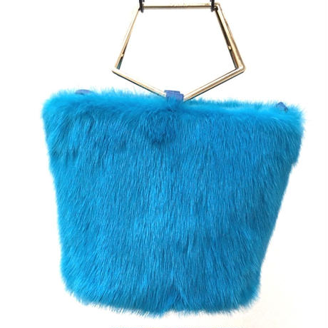 フラッフィーミンク(turquoise blue)