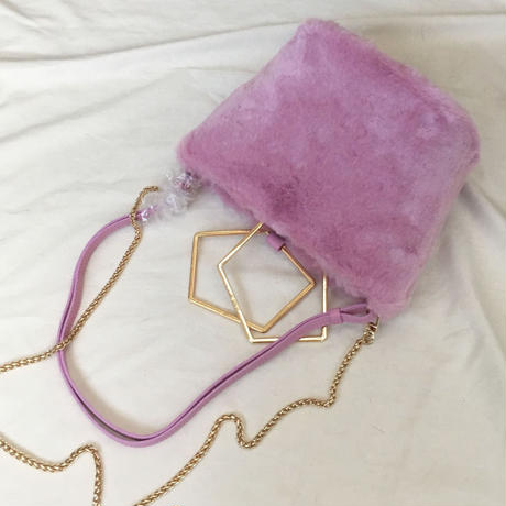 fluffy eco (dusty pink)