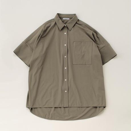 big box shirt (khaki)