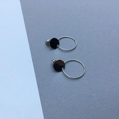 skinny circle pierce (silver92.5)
