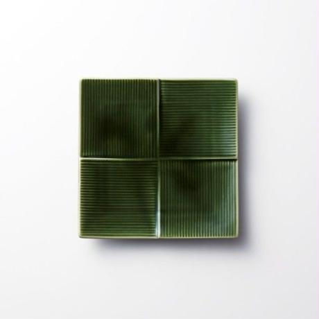 Miyama 磁器プレート【CALM】13cm / 織部
