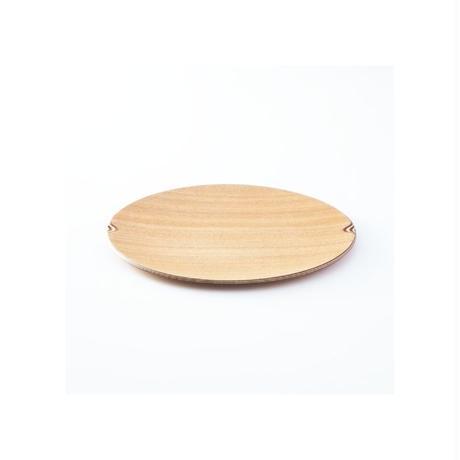 Gold Craft 木製プレート【SHIMA-SHIMA】S / 丸