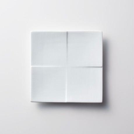 Miyama 磁器プレート【CALM】13cm / 白磁