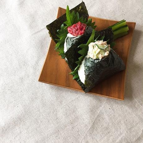 Gold Craft 木製プレート【SHIMA-SHIMA】S / 角