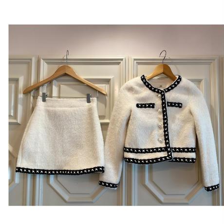 【1月19日まで3000円OFF】COCOレディセットアップ【ジャケットとスカートのSET】