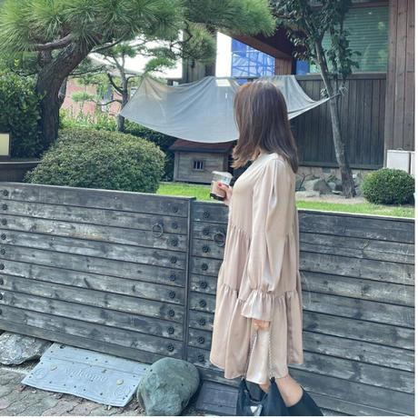 【9月13日まで10%OFF】ドレッシーサンデーワンピース
