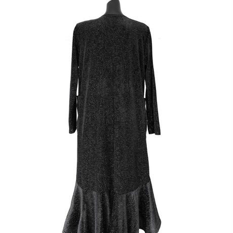 【11月11日まで5%OFF】グロッシーストライプドレス